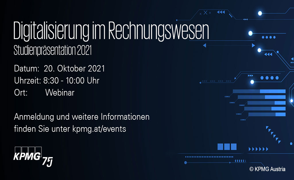 KPMG-Austria Einladung zur Studienpräsentation